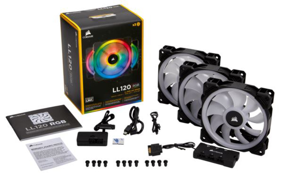 Slika Corsair RGB 120mm Dual Light