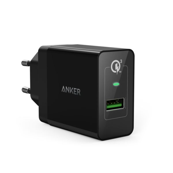 Slika Anker PowerPort+1 With Quick Charge 3.0 Black