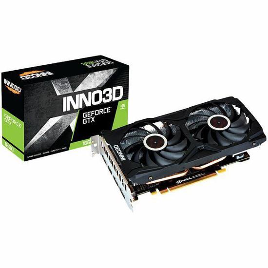 Slika Inno3D GeForce GTX 1660 Gaming OC X2, 6GB, GDDR5