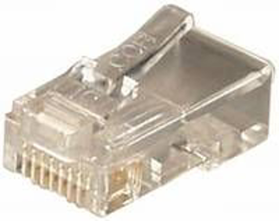 Slika Transmedia RJ45 connector for round cable