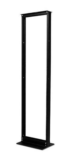 Slika APC NetShelter 2 Post Rack 45U #12-24 Threaded Holes Black