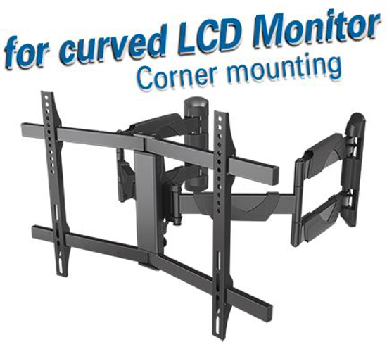 Slika Transmedia Corner Bracket for Curved- and Flat Panel TV (94 - 178 cm)