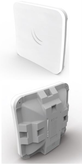 Picture of MikroTik (SXTsq Lite5) 5Ghz outdoor wireless device with a 16dBi  integrated antenna