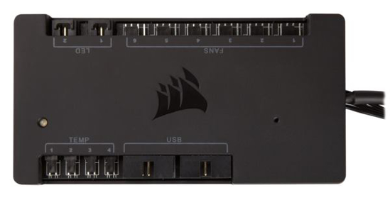 Picture of Corsair Commander PRO hardware control for Corsair Link system