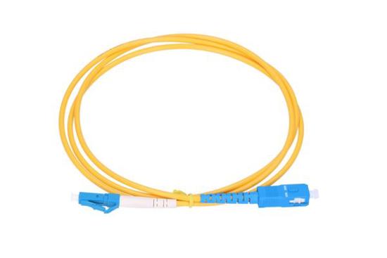 Slika NFO Patch cord, LC/UPC-SC/UPC, Singlemode 9/125, G.652D, Simplex, 0,5m