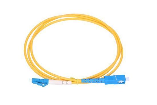 Slika NFO Patch cord, LC/UPC-SC/UPC, Singlemode 9/125, G.652D, Simplex, 15m