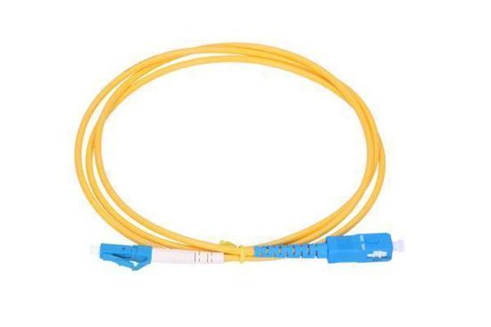 Slika NFO Patch cord, LC/UPC-SC/UPC, Singlemode 9/125, G.652D, Simplex, 2m