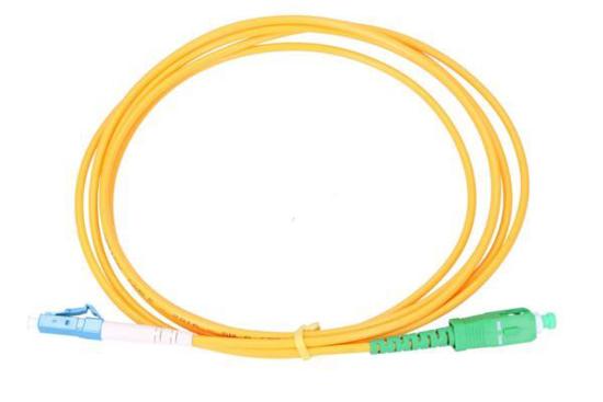 Slika NFO Patch cord, LC/UPC-SC/APC, Singlemode 9/125, G.652D, Simplex, 0,5m