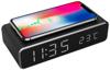 Picture of Gembird digitalni sat s funkcijama alarma i bežićnog punjenja, crne boje