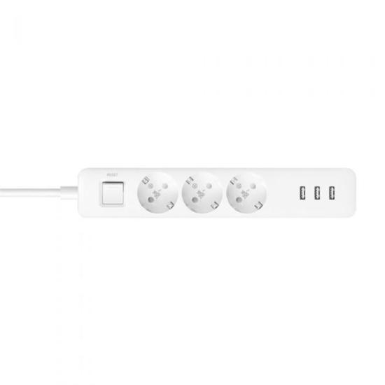 Slika Xiaomi Mi Power Strip 3x Schuko Sockets, 3 x USB
