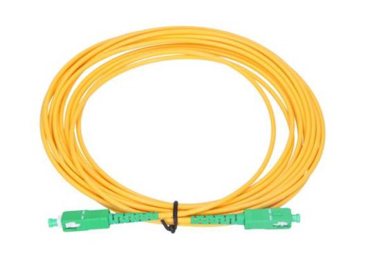 Slika NFO Patch cord, SC/APC-SC/APC, Singlemode 9/125, G.657A1, Simplex, 1m