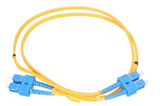 Slika NFO Patch cord, SC/UPC-SC/UPC, Singlemode 9/125, G.652D, 3mm, Duplex, 1m