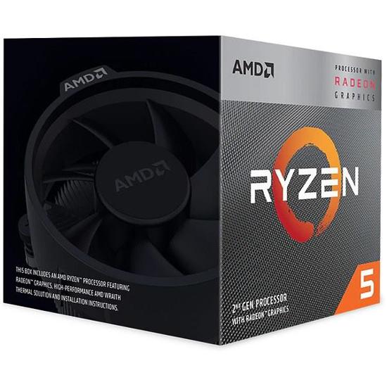 Slika AMD Ryzen 5 3400G Box, AM4