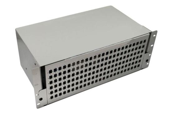 "Slika NFO Patch Panel 4U 19"" - 144x SC Simplex/LC Duplex, Slide-out on rails, 6 trays"