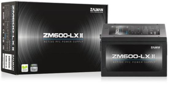 Slika Zalman 600W PSU LX-II Series Reta