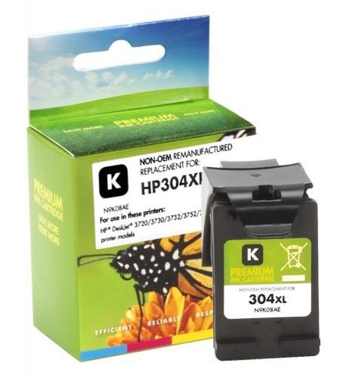 Slika Tinta Static Control HP 304XL Black
