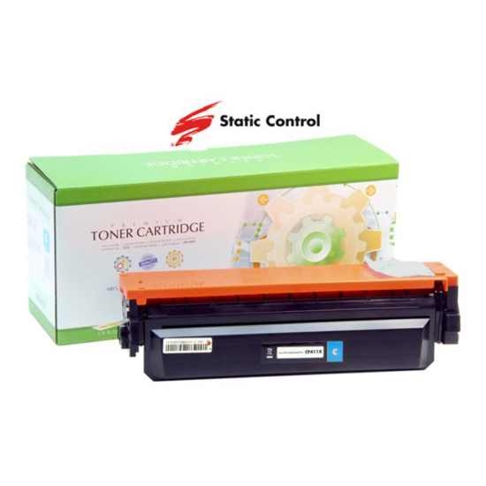 Slika Toner Static Control HP/Canon CF411X Cyan