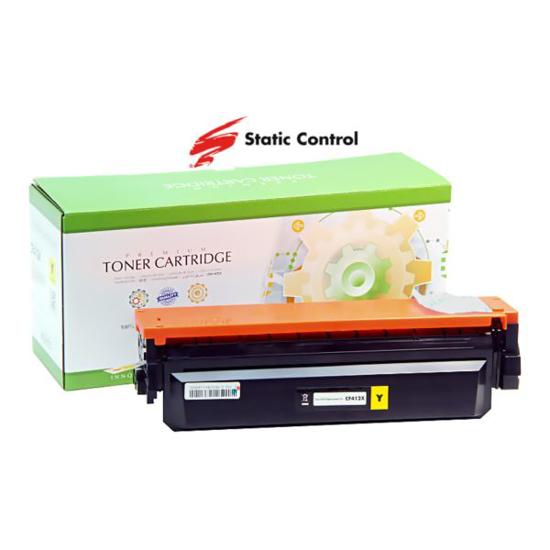 Slika Toner Static Control HP/Canon CF412X Yellow