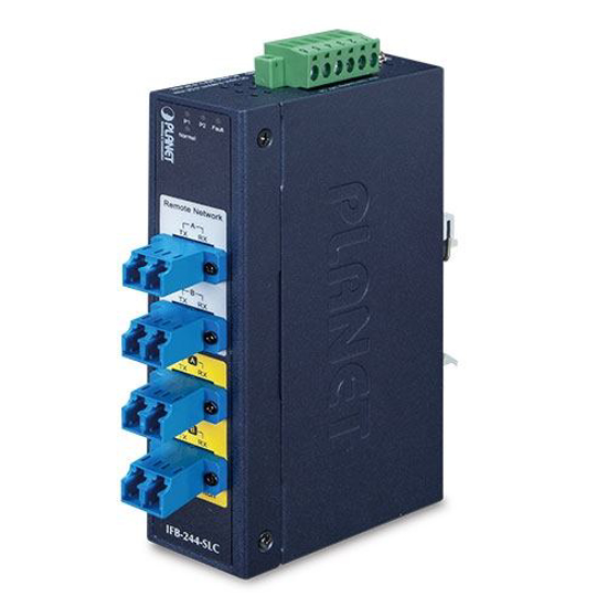 Slika Planet Industrial 2-Channel duplex or 4 channel simplex MultiMode SC Optical Fiber Bypass Switch