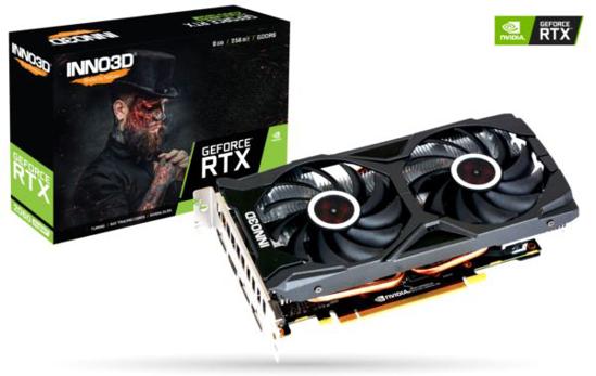 Slika Inno3D GeForce RTX 2060 SUPER Twin X2 OC, 8GB, GDDR6