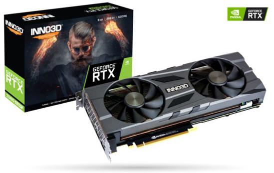 Slika Inno3D GeForce RTX 2080 SUPER Twin X2 OC, 8GB, GDDR6