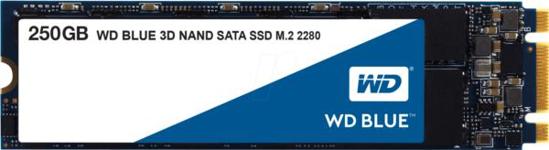 Slika Western Digital 250GB SSD, Blue 3D, M.2 SATA
