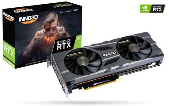 Slika Inno3D GeForce RTX 2070 SUPER Twin X2 OC, 8GB, GDDR6