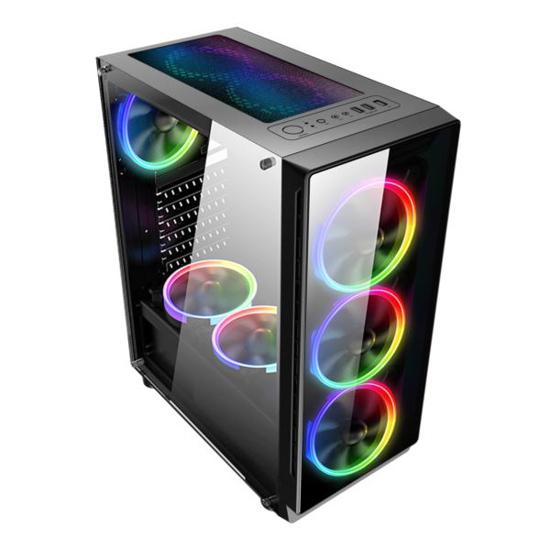 Slika NaviaTec Legend Gaming Case 4xLED Color Ventilators, 2x USB 2.0, 1 USB3.0