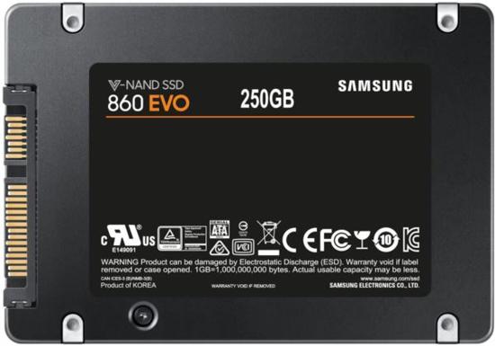 Slika Samsung SSD 860 Evo 250GB