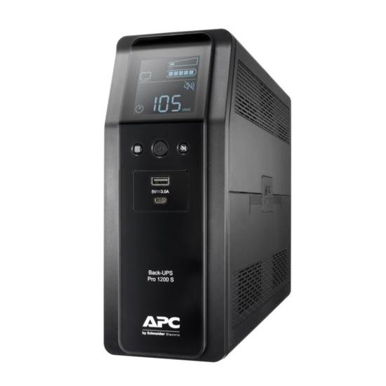 Slika APC Back UPS Pro BR 1200VA/720W 1200VA, 8x IEC C13 Outlets, AVR, LCD Interface, Sinewave