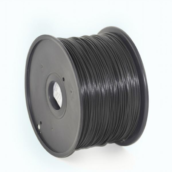 Slika Gembird PLA filament for 3D printer,  Black, 1.75 mm, 1 kg