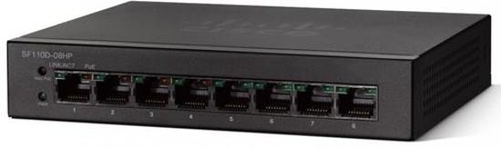 Slika Cisco 8-Port Unmanaged 10/100 RJ45 w/ 4 PoE ports Desktop switch