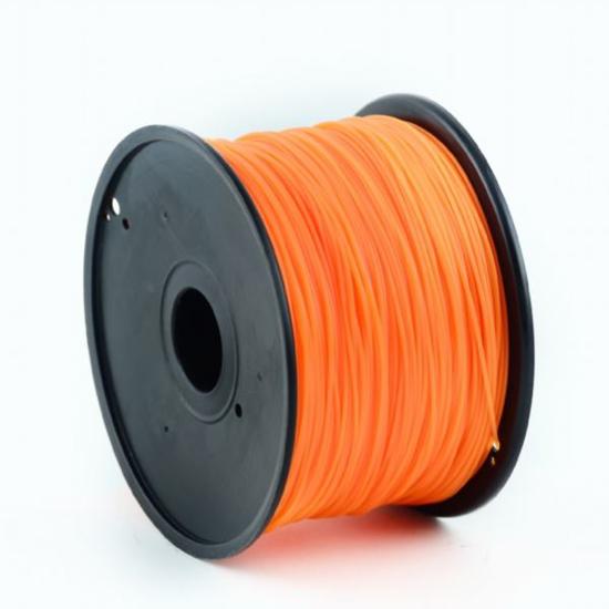 Slika Gembird PLA filament for 3D printer, Orange 1.75 mm, 1 kg