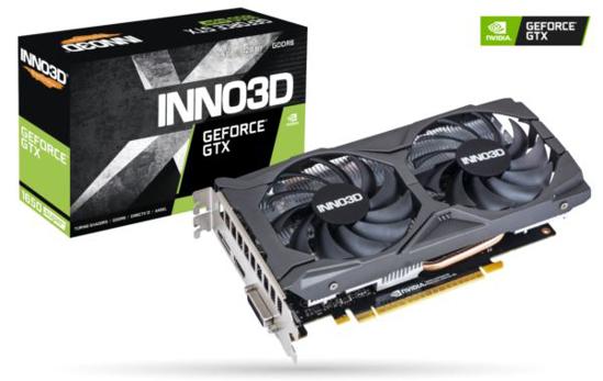Slika Inno3D GeForce GTX 1650 SUPER TWIN X2 OC, 4GB, GDDR6