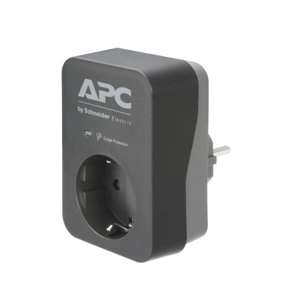 Slika APC Essential SurgeArrest 1 Outlet Black 230V Germany