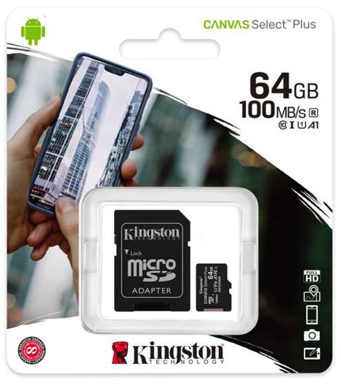 Slika Kingston MicroSDHC Class10 64GB