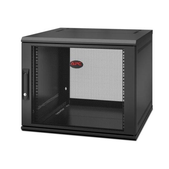 Slika APC NetShelter WX 12U 600x600 Wall Mount Cabinet Black with swing handle