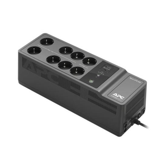 Slika APC Back-UPS 850VA/400W, 230V, 8 Outlets + 2 USB charging ports