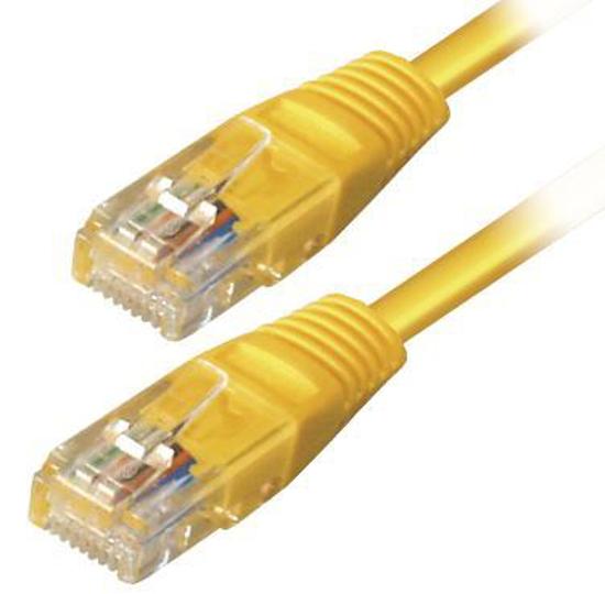 Slika Transmedia Cat.5e UTP Kabel 6m, Yellow