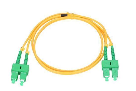Slika NFO Patch cord, SC/APC-SC/APC, Singlemode 9/125, G.657A2, 2mm, Duplex, 15m