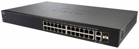 Slika Cisco 28-Port Gigabit Switch with 24x 1GbE + 2x10-GbE + 2x 10G SFP+ Smart Switch