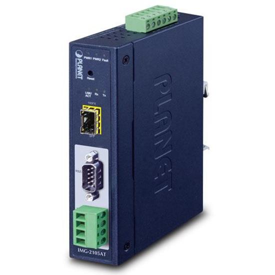 Slika Planet Industrial 1-port RS232/422/485 Modbus Gateway with 1-Port 100BASE-FX SFP
