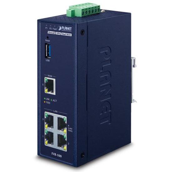 Slika Planet Industrial 5-Port 10/100/1000T VPN Security Gateway