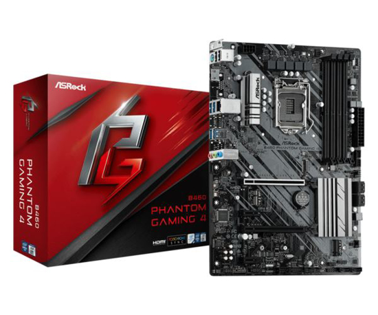 Slika Asrock Intel LGA1200 B460 PHANTOM GAMING 4