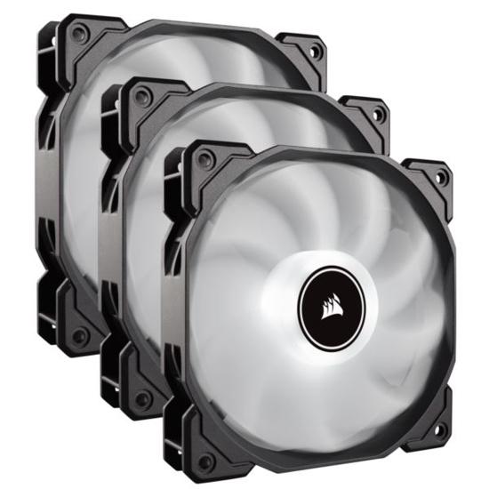 Slika Corsair Air Series AF120mm LED PC Case Fans 3 Pack