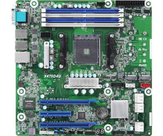 Slika Asrock Rack AMD AM4 X470D4U