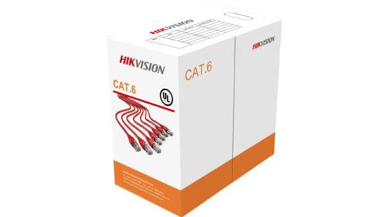 Slika HikVision 305 m CAT6 UTP Network Cable Solid Copper Core (Cable Orange)