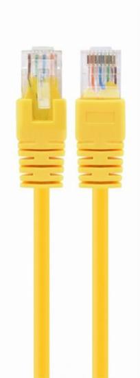 Slika Gembird Cat6 UTP Patch cord, yellow, 0.5 m