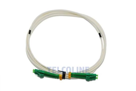 Slika NFO Patch cord, LC/APC-LC/APC, Singlemode 9/125, G.657A2, 3mm, LSZH, Duplex, 1m