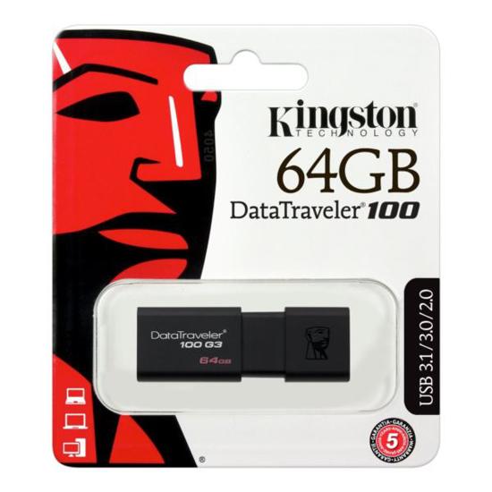 Slika Kingston DataTrav. 100 G3 64GB